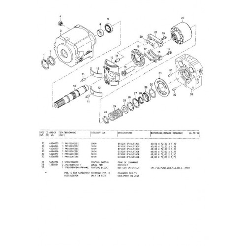Atlas 1104 Serie 314 Parts Manual