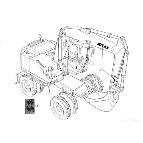 Atlas 1204 Serie 125 Parts Manual