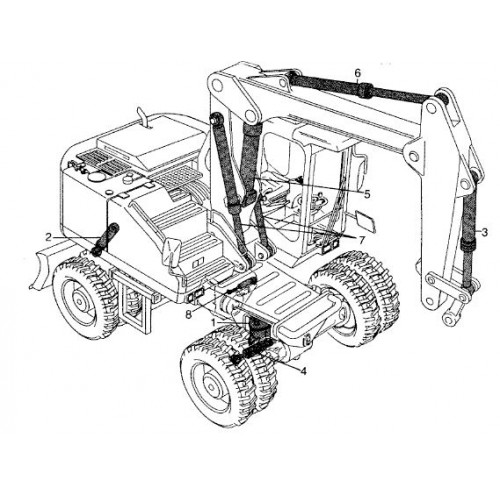 Atlas 1304 Serie 135 Parts Manual