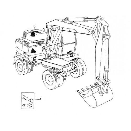 Atlas 1304 Serie 136 Parts Manual