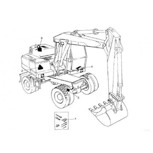 Atlas 1404 UDSSR Parts Manual