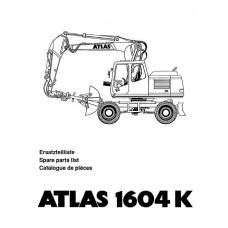 Atlas 1604 K Serie 167 Parts Manual