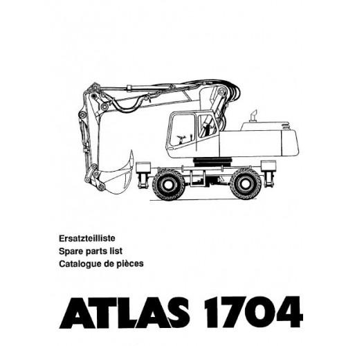 Atlas 1704 Serie 372 Parts Manual