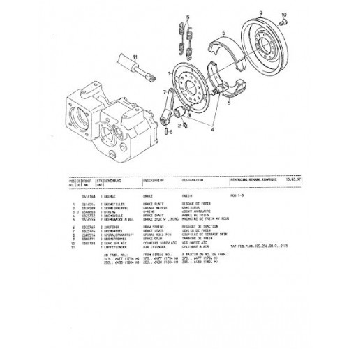 Atlas 1804 Serie 283 Parts Manual