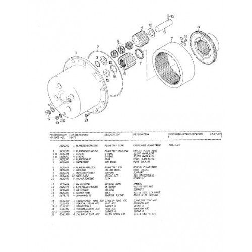 Atlas 1804 Serie 282 Parts Manual