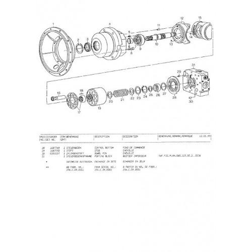 Atlas 1304 R Serie 137 Parts Manual