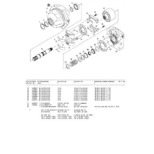 Atlas 1304 R Serie 135 Parts Manual