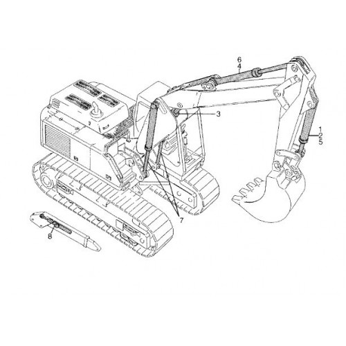 Atlas 1704 R Serie 373 Parts Manual
