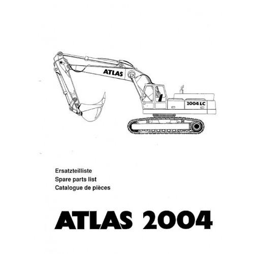 Atlas 2004 R Parts Manual