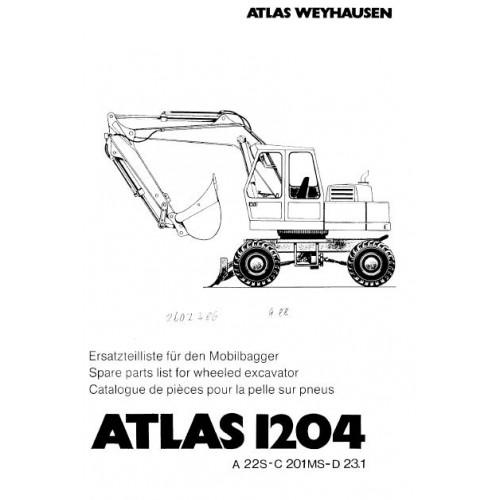 Atlas AB 1204 Parts Manual 2