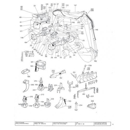 Atlas AB 1302 E ZW Parts Manual