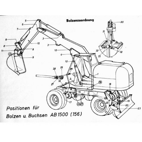 Atlas AB 1500 Parts Manual