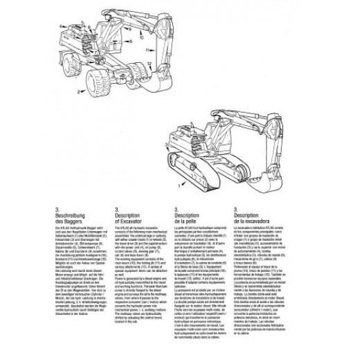 Atlas AB 1302 E Operators Manual