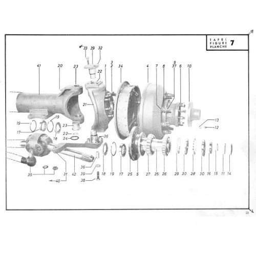 Atlas AB 1302 Parts Manual