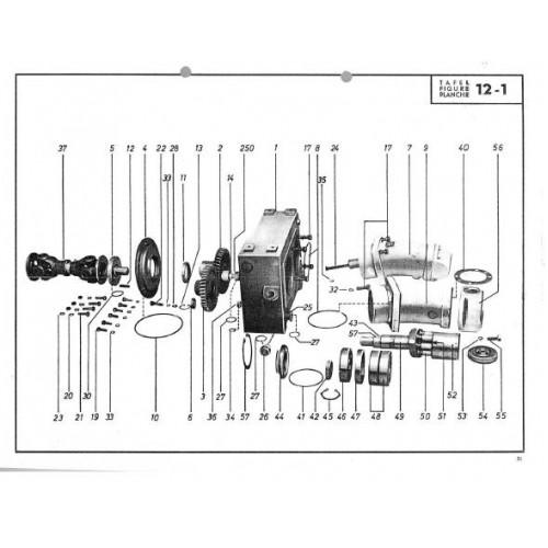Atlas AB 1200 Parts Manual