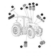 Case IH MX120 Maxxum Parts Manual