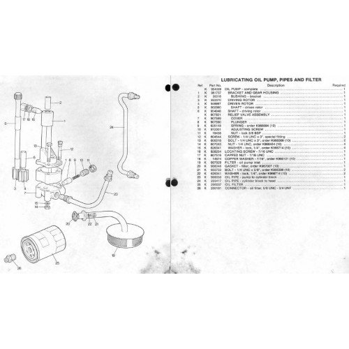 Case International David Brown 1190 Parts Manual