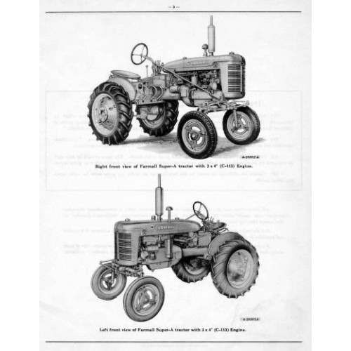 farmall c repair manual
