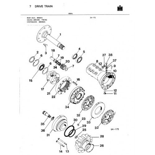 International 856 XL Parts Manual