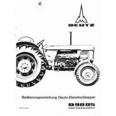 Deutz D9005 Operators Manual