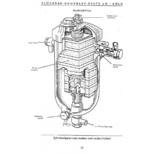 Deutz F1L514 / 1 Operators Manual