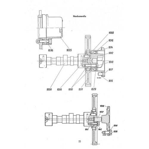 Deutz F1L712 Parts Manual