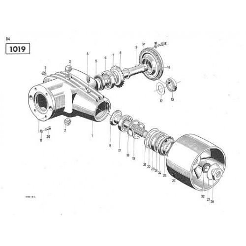 Deutz D5505 Parts Manual
