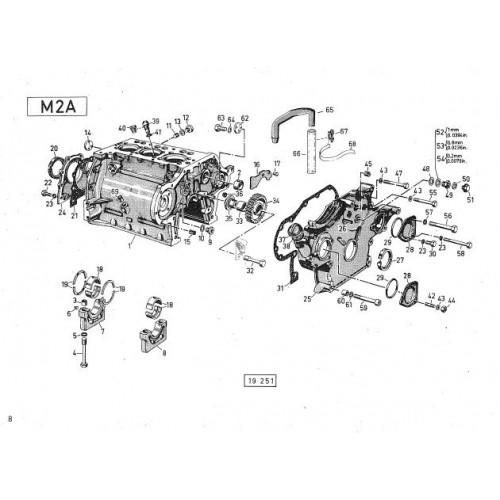 Deutz D4006 Parts Manual