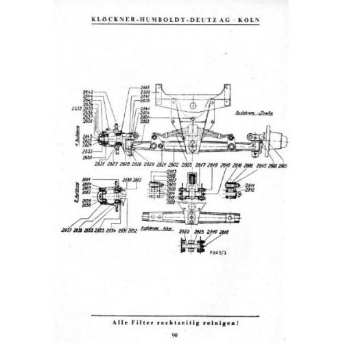 Deutz F2M315 Parts Manual