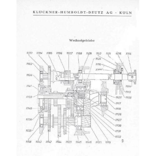 Deutz F1L612 Parts Manual
