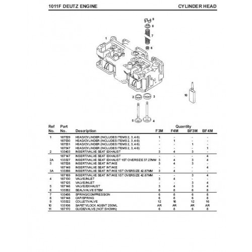 Deutz Bf4m1011f Engine • Wiring And Engine Diagram