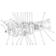 Deutz Fahr ZF Powershuttle Tractor Transmission T-7100 KT