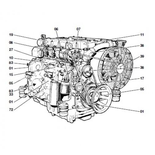 Deutz Fahr Diesel Engine BFM 1012 1013 Serie BFM1012