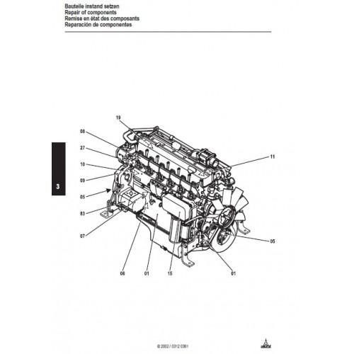 Deutz Fahr Diesel Engine 2012 Serie BF4M2012 / C BF6M2012C
