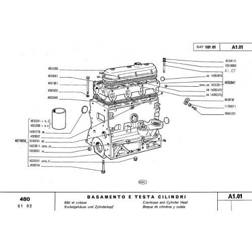 Fiat 480 Parts Manual