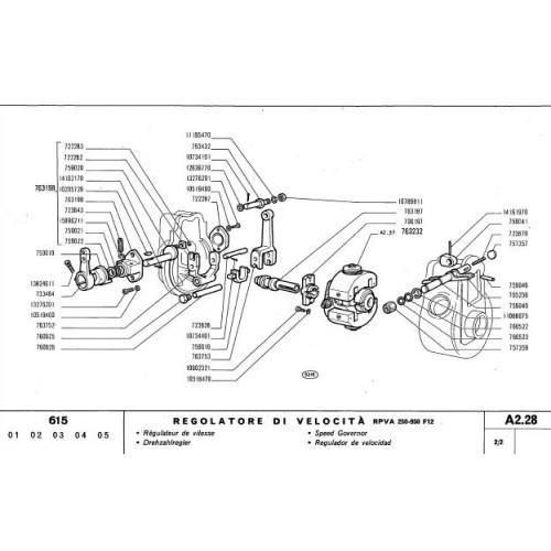 Fiat 615 Parts Manual