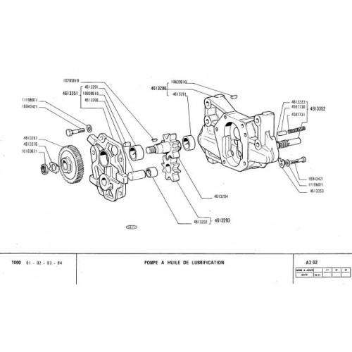 Fiat 1000 Parts Manual