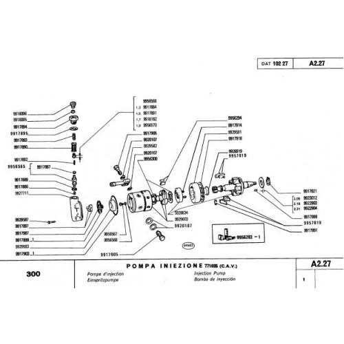 Fiat 300 Parts Manual 81