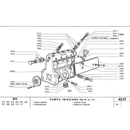 Fiat 315 Parts Manual