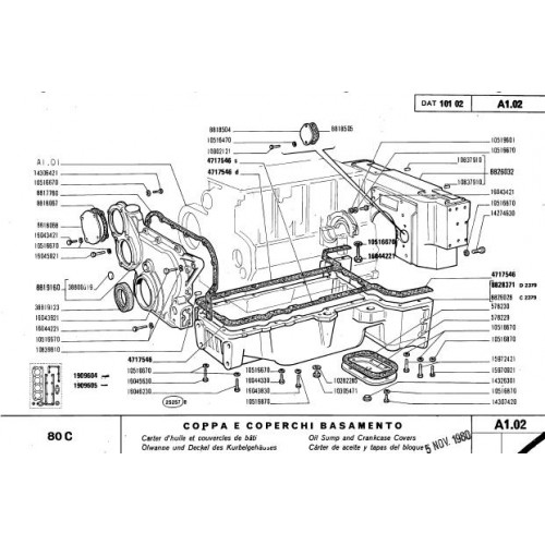 Fiat 80C Parts Manual