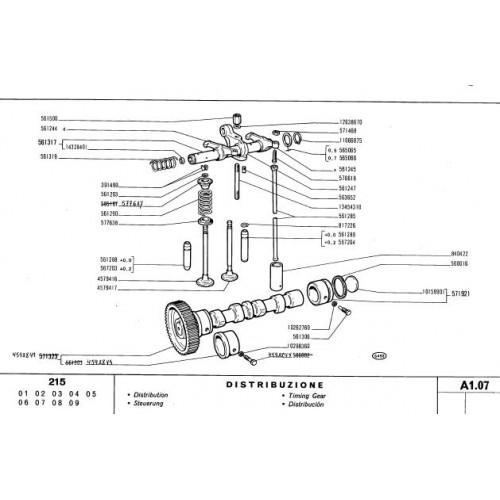 Fiat 215 Parts Manual