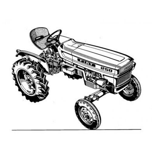Fiat 250 Parts Manual