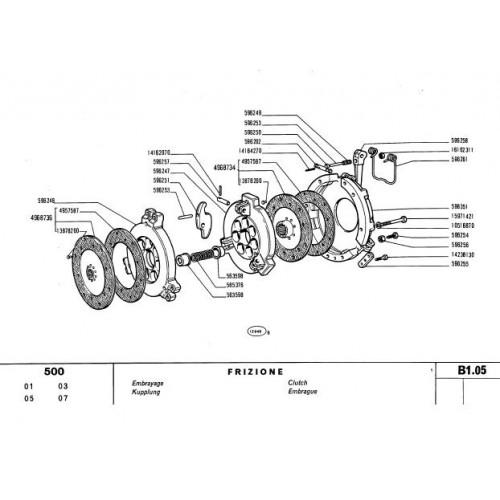 Fiat 500 Parts Manual
