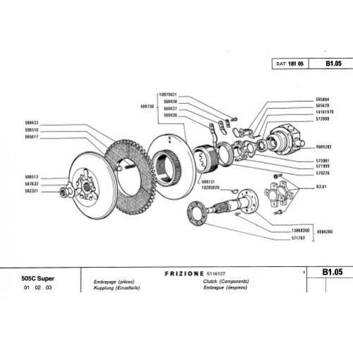 Fiat 505C Super Parts Manual