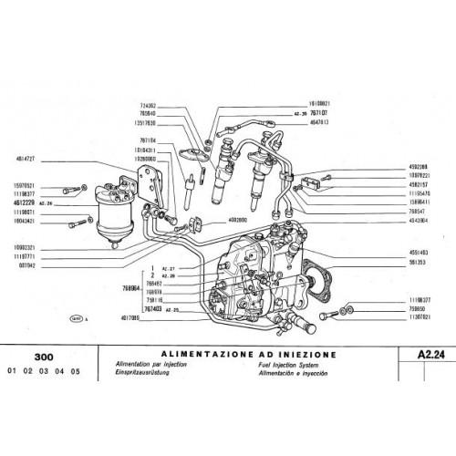 Fiat 300 Parts Manual 71