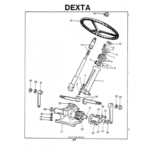 Wiring Diagram For Fordson Dexta Tractor. Diagram. Auto