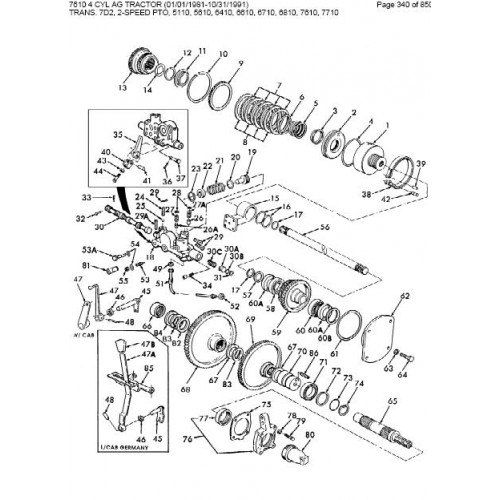 Ford 7610 Wiring Diagram. Ford. Wiring Diagrams Instructions