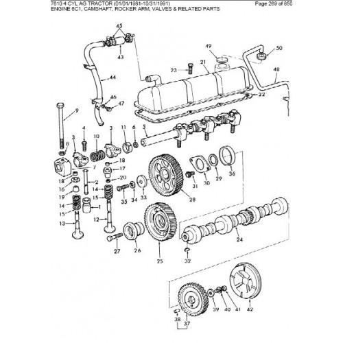 Ford 7610 Parts Manual