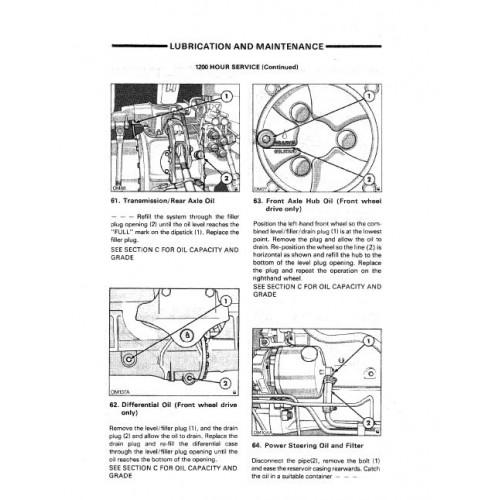 Ford 8210 Series 10 Operators Manual