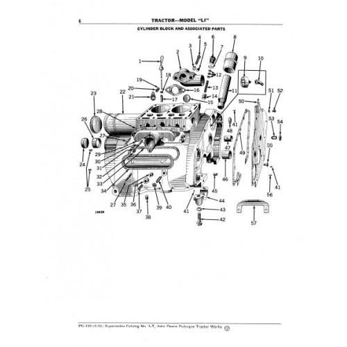John Deere Model LI Parts Manual